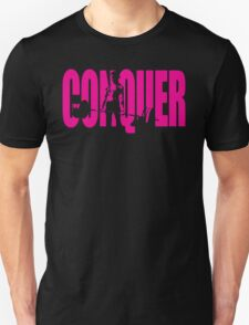 CONQUER (Girl Deadlift Iconic) T-Shirt