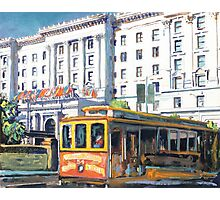 Cable Car 54 San Francisco California Picture Photographic Print