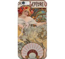 Alphonse Mucha - Bisquits iPhone Case/Skin