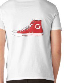 Wisco converse Mens V-Neck T-Shirt