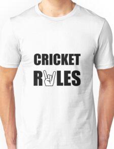 Cricket Rules Unisex T-Shirt