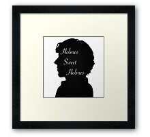 Holmes Sweet Holmes Framed Print
