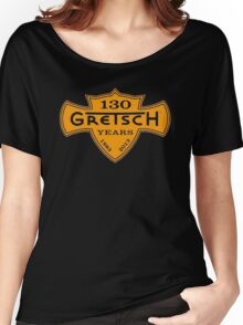 GRETSCH 130 YEARS ORANGE Women's Relaxed Fit T-Shirt