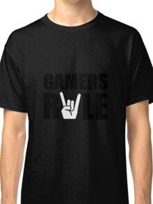 Gamers Rule Classic T-Shirt