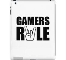 Gamers Rule iPad Case/Skin