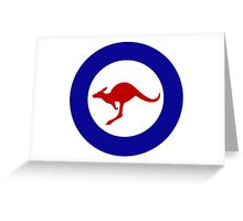 Roundel of the Royal Australian Air Force Greeting Card