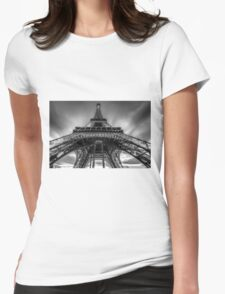 Eiffel Tower 9 Womens Fitted T-Shirt