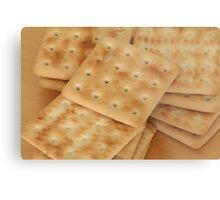 dry  biscuits cracker Metal Print