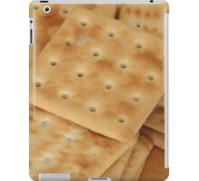 dry  biscuits cracker iPad Case/Skin
