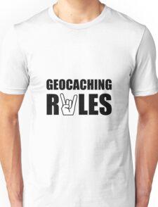 Geocaching Rules Unisex T-Shirt