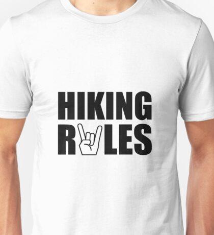 Hiking Rules Unisex T-Shirt