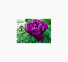 SUPER SIZED PURPLE BLACK PEONY Unisex T-Shirt