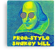 Psychedelic Shakespeare Canvas Print