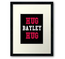 Hug Bayley Hug Design Framed Print