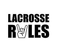 Lacrosse Rules Photographic Print