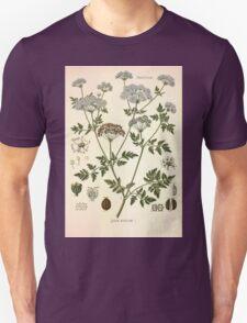 Köhler's Medizinal Pflanzen in naturgetreuen Abbildungen mit kurz erläuterndem Texte  Atlas zur Pharmacopoea 1883 1914 V2 072 Conium Maculatum T-Shirt