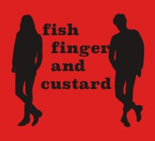 Fish finger and custard One Piece - Short Sleeve