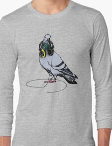 Techno Pigeon Long Sleeve T-Shirt
