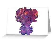 Espurr sees ALL Greeting Card