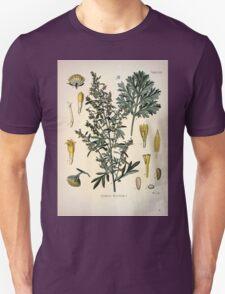 Köhler's Medizinal Pflanzen in naturgetreuen Abbildungen mit kurz erläuterndem Texte  Atlas zur Pharmacopoea 1883 1914 V1 071 Artemisia Absinthium T-Shirt