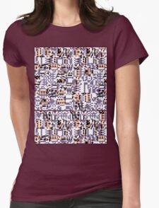 Missing Pattern 2 Womens Fitted T-Shirt