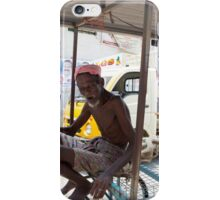 Stall Holder in Cochin India iPhone Case/Skin