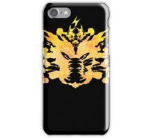 Pikachu Rorschach test iPhone Case/Skin