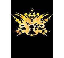 Pikachu Rorschach test Photographic Print
