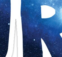 URI galaxy text Sticker
