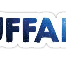 SUNY University at Buffalo galaxy text Sticker