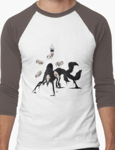 [KING] Men's Baseball ¾ T-Shirt