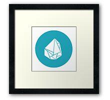 Breaking Bad Meth icon Framed Print