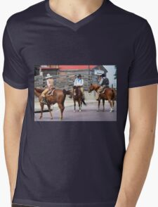 Cattle Drive 9 Mens V-Neck T-Shirt