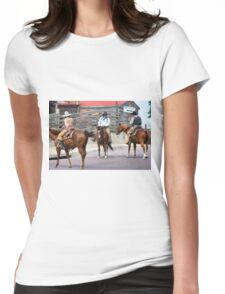 Cattle Drive 9 Womens Fitted T-Shirt
