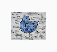 The Peck and Lay Blue Bird Unisex T-Shirt