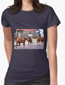 Cattle Drive 10 Womens Fitted T-Shirt