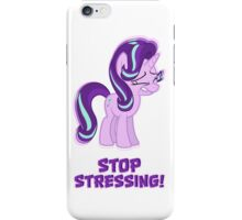Starlight Glimmer - Stop Stressing! iPhone Case/Skin