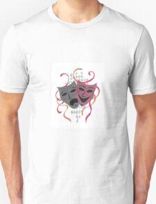 Comedy/tragedy Unisex T-Shirt