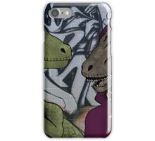 Velocirappers (No Punchline) iPhone Case/Skin