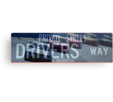 Drivers Way - Private Street Metal Print
