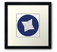 Community intro icon  Framed Print