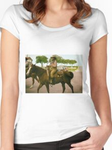 Cattle Drive 12 Women's Fitted Scoop T-Shirt