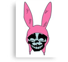 Top Seller - Louise Belcher: Skull Blue Cavity (version one) Canvas Print