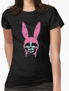 Louise Belcher: Skull Blue Cavity (version one) Womens Fitted T-Shirt