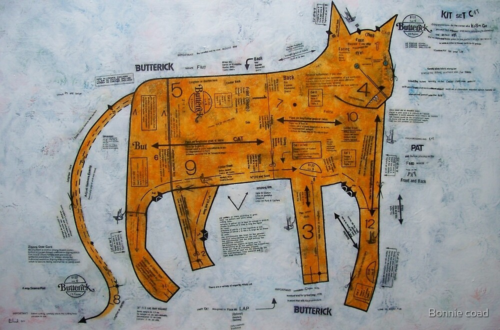 Kit Set Cat by Bonnie coad