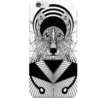 Zentangle Wolf iPhone Case/Skin
