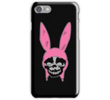 Louise Belcher: Skull Black Cavity (version two) iPhone Case/Skin