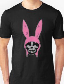 Louise Belcher: Skull Black Cavity (version two) Unisex T-Shirt