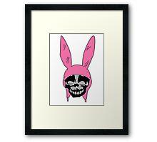 Louise Belcher: Skull Black Cavity (version two) Framed Print