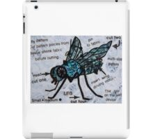 The Fly on the Wall Spy Device. iPad Case/Skin